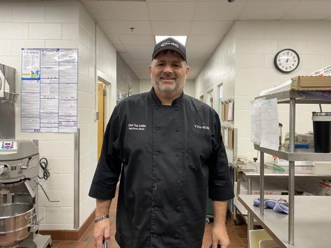 Prior to his job at SPA, Food Service Director Tom Schiller gained experience from working at restaurants.