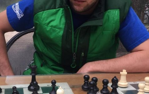Math teacher Zach Sheffert fills his free time with disc golf games and mind games