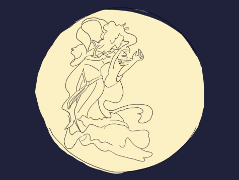Not wanting such a horrible person to take possession of the xiandan, Chang'e gulped down both of the xiandan and ascended to the moon where she became a deity.