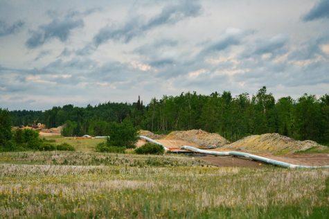 Enbridge has spent the last seven years building the 1,031 mile long Line 3 pipeline.