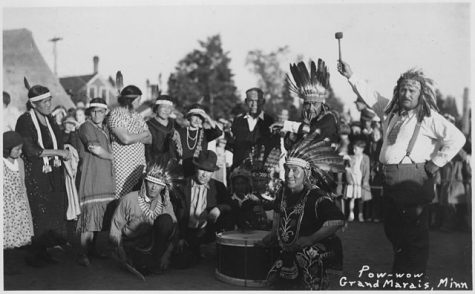 INDIGENOUS PRIDE. Native Americans come together for a pow-wow circa 1930 in Grand Marais, MN. Indigenous peoples contributions to America cannot go unnoticed, and Indigenous Peoples day is one time to recognize them.