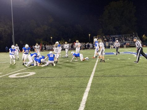 Wolfpack blocks Province academy from gaining ground in the 3rd quarter soon after they score a touchdown and field goal.