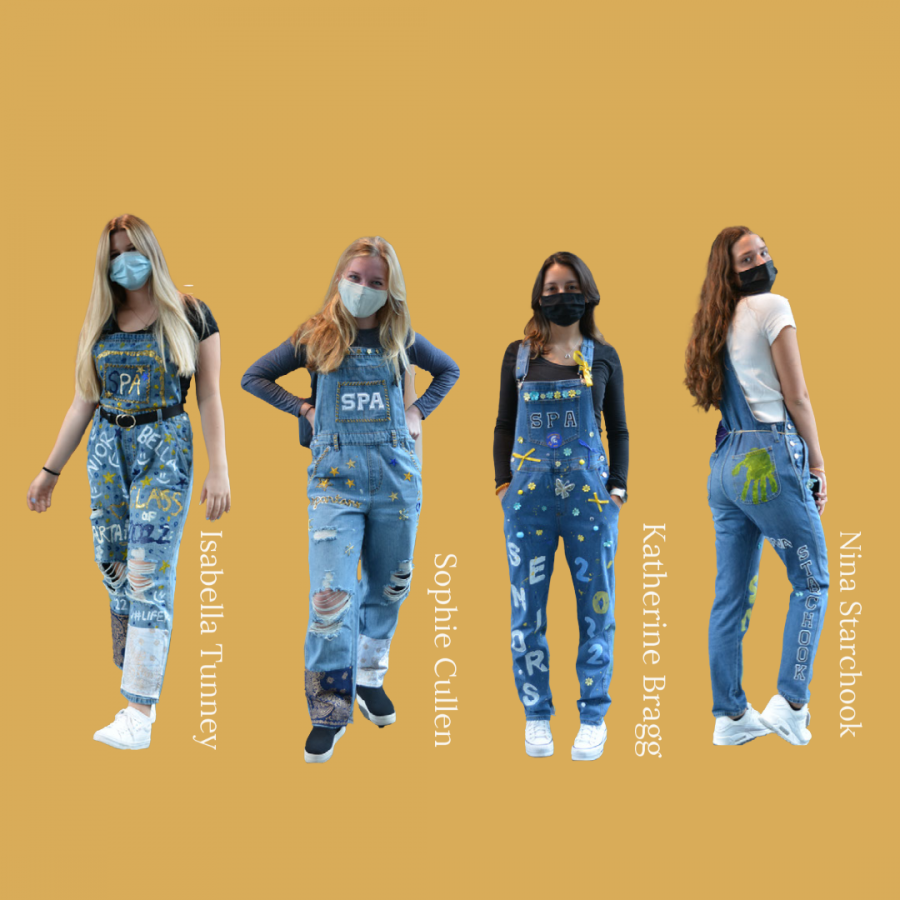 Every year, the senior class designs overalls for Homecoming. This year, the class of 2022 did not dissapoint.
