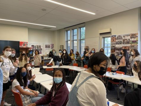 The room buzzes with excitement as IC plans SPAs first Indigenous Peoples Day Assembly. Faculty and student leaders alike agree that recognizing the mistreatment and discrimination of Indigenous Peoples in the United States and honoring their roles in society is extremely important.