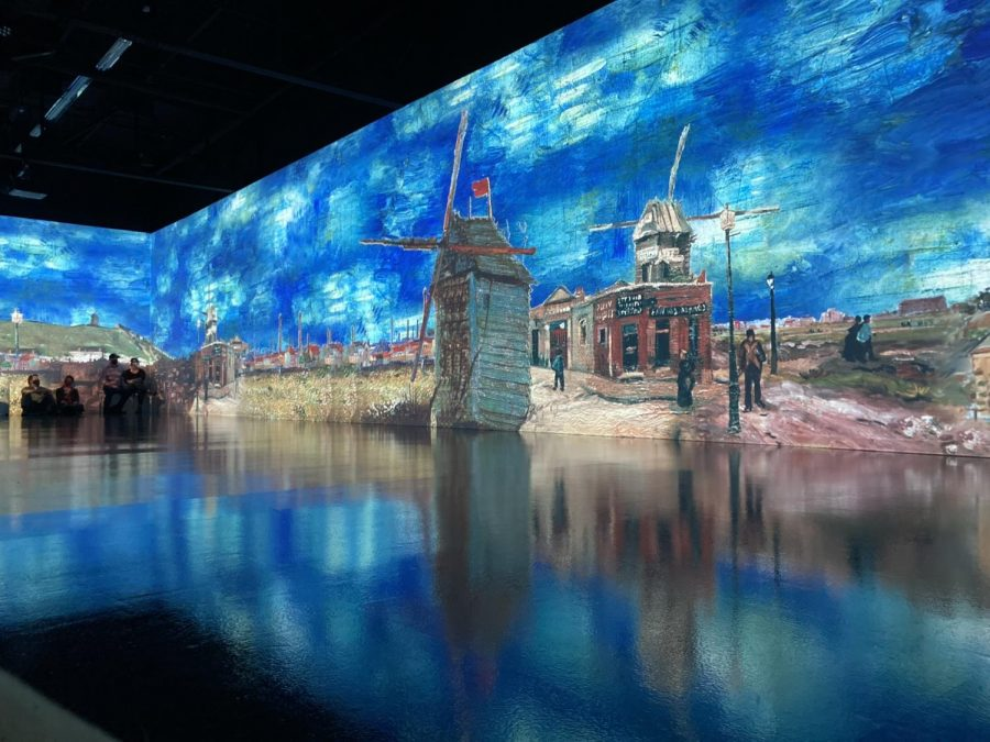 The exhibit isn't creating new material (the music and paintings predate the show), but the artful combination of the two into a truly immersive physical experience is admirable.